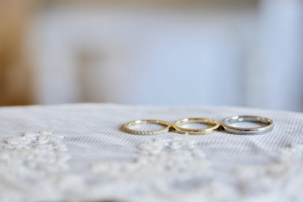 ミルグレインの結婚指輪