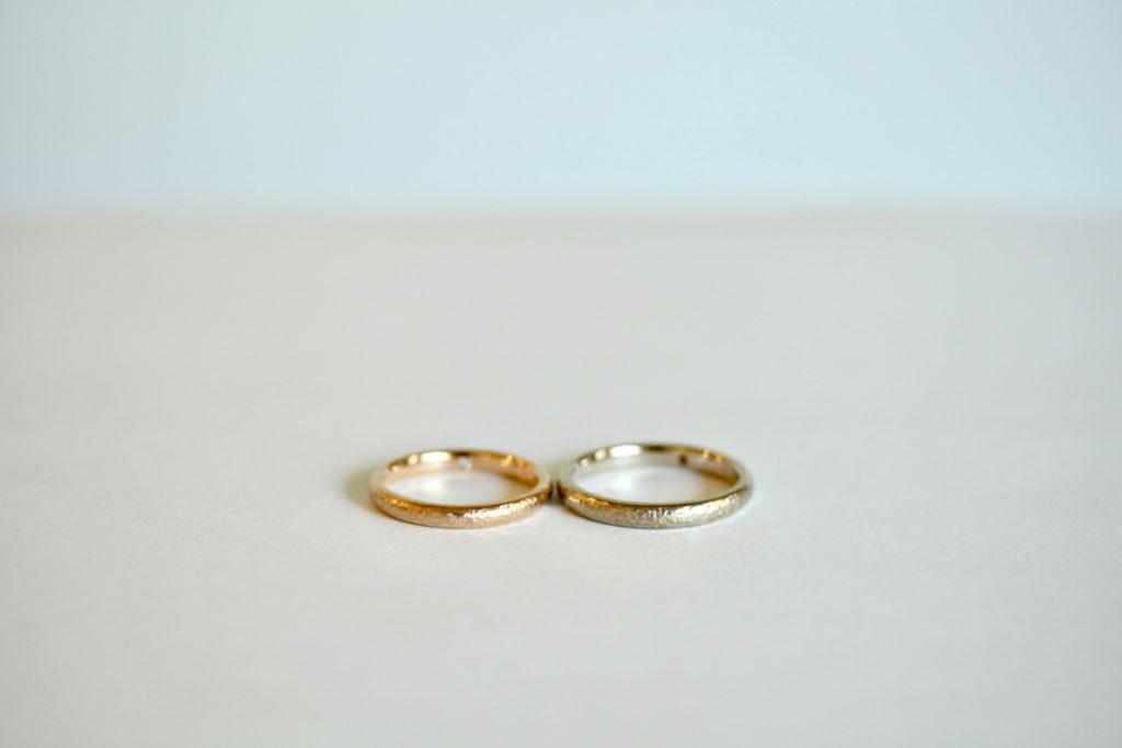 ナチュラルな結婚指輪